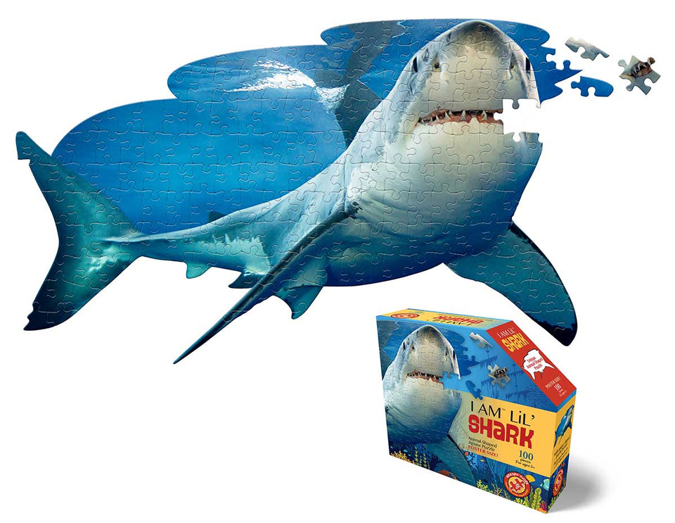 I am Lil Shark 100 Piece Puzzle