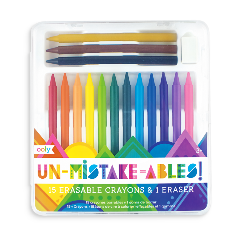 Un-Mistake-Able Crayons