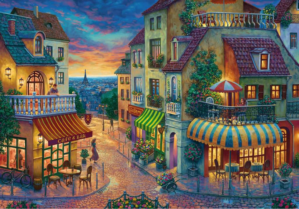 An Evening in Paris 1000 Piece Puzzle