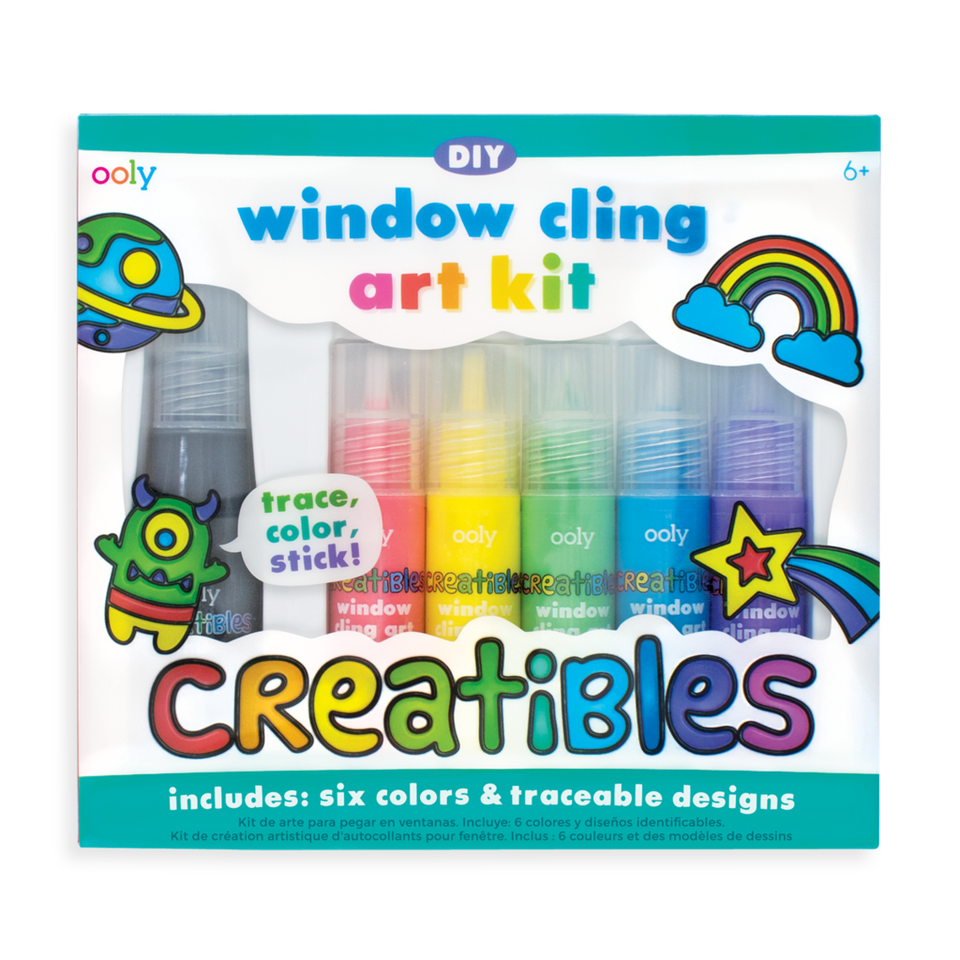 Window Cling Art Set