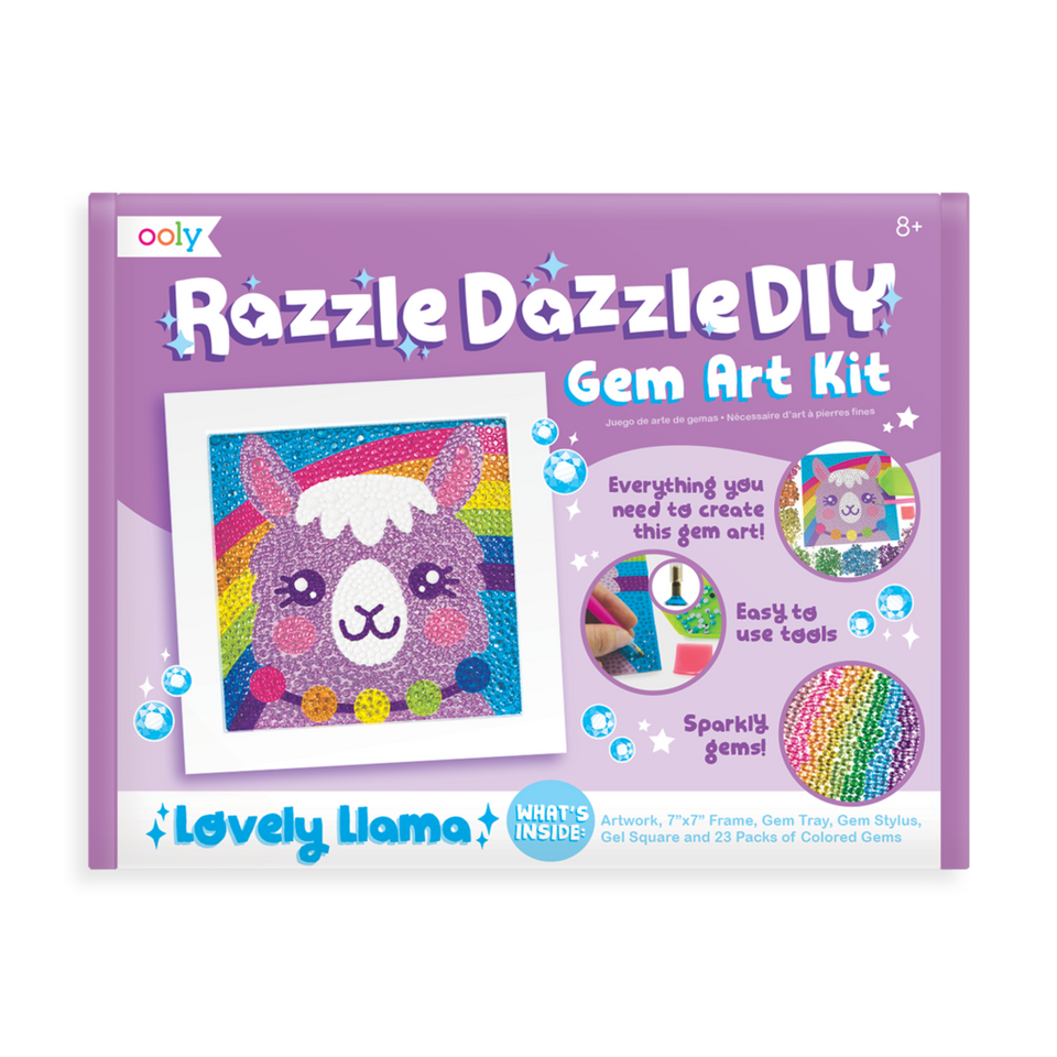 Gem Art Kit Lovely Llama