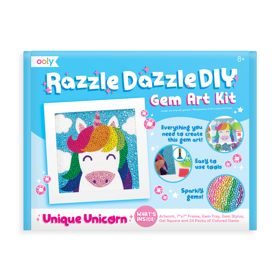 Gem Art Kit Unique Unicorn