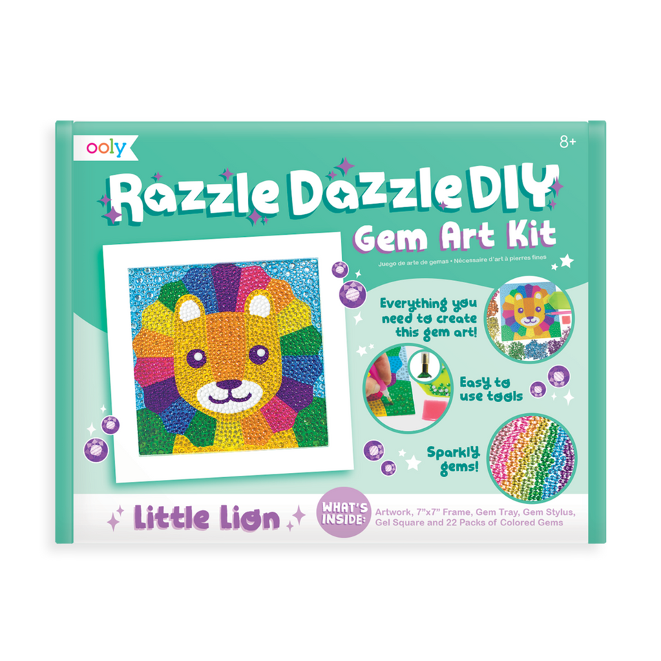 Gem Art Kit Little Lion