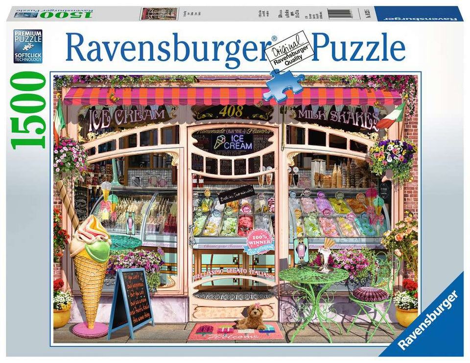 Ice Cream Shop 1500 Piece Puzzle