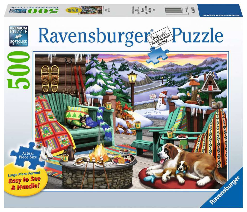 Apres All Day 500 Piece Puzzle