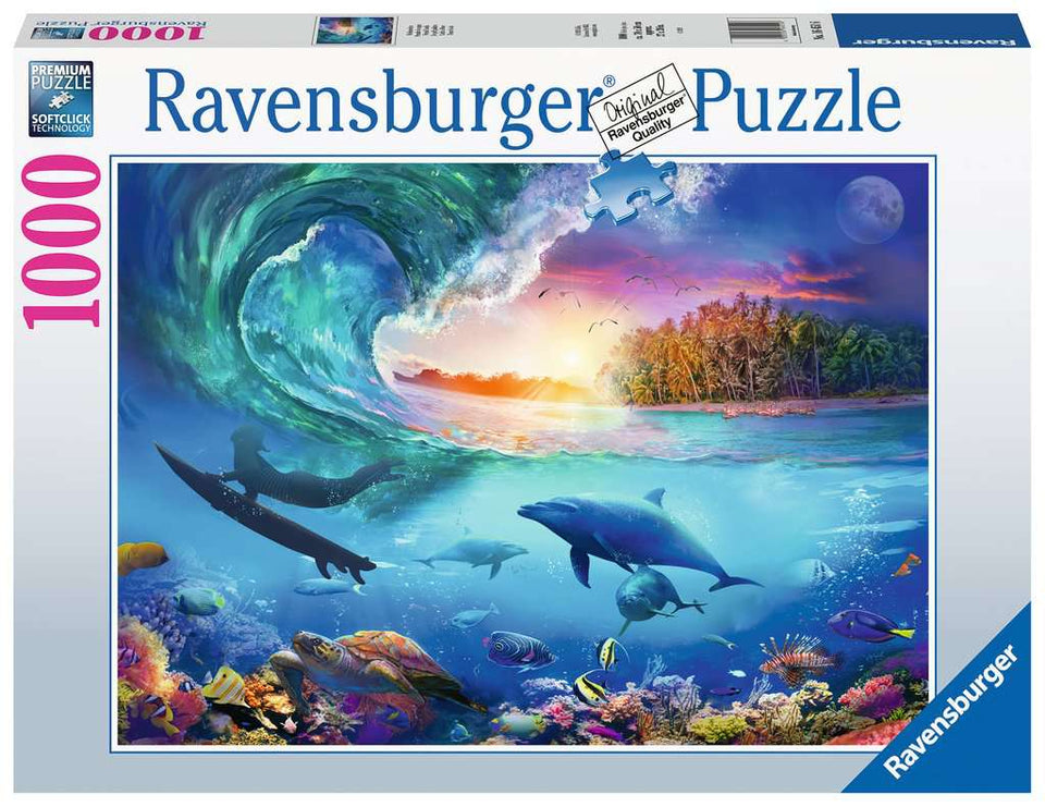 Catch a Wave 1000 Piece Puzzle