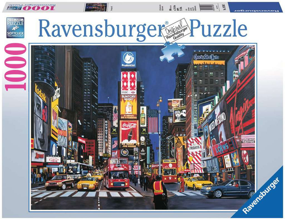Times Square NYC 1000 Piece Puzzle