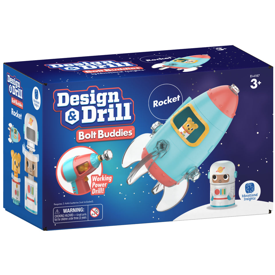 Bolt Buddies Design & Drill Rocket