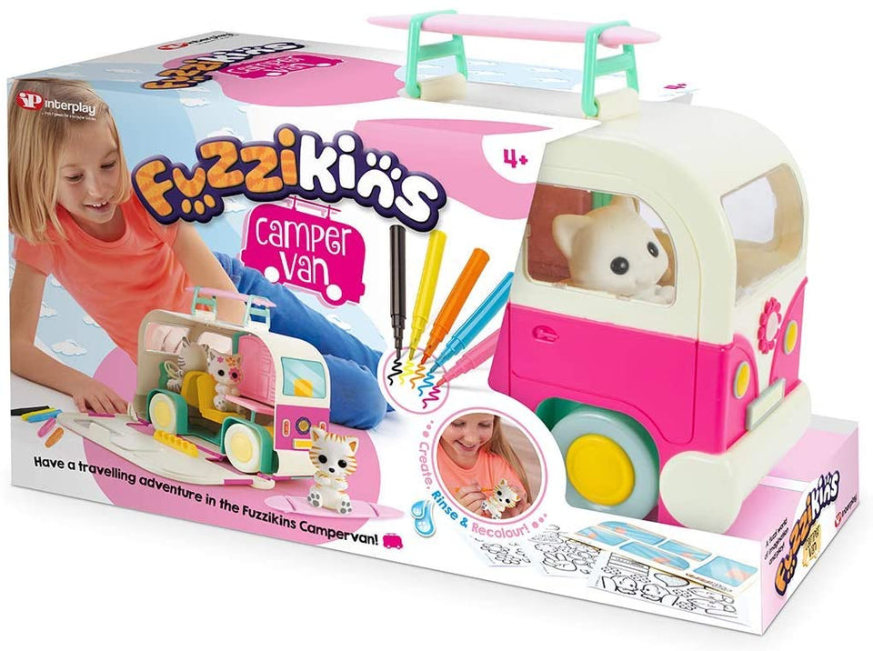 Fuzzkins Campervan Cats Case