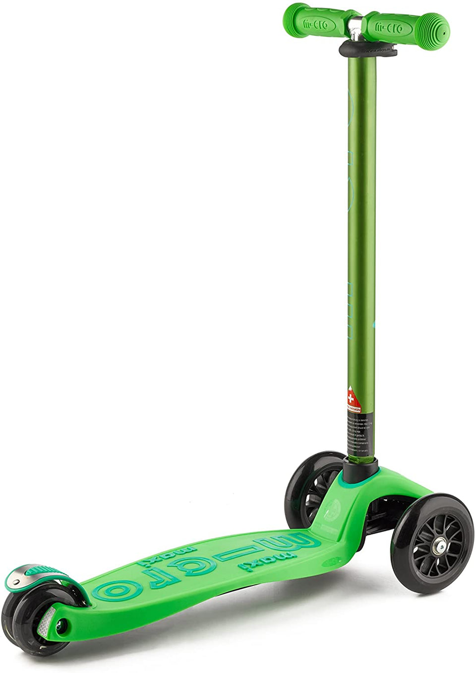 Maxi Micro Deluxe Green Scooter