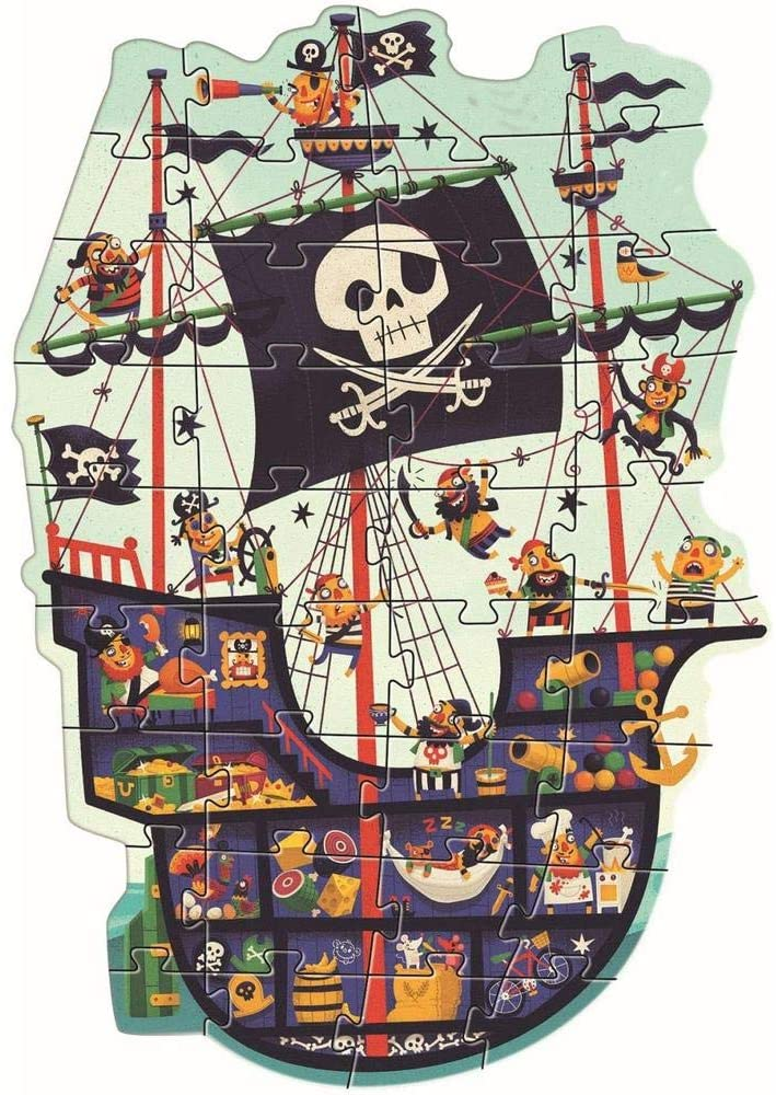 The Pirate Ship 36 Piece Puzzle