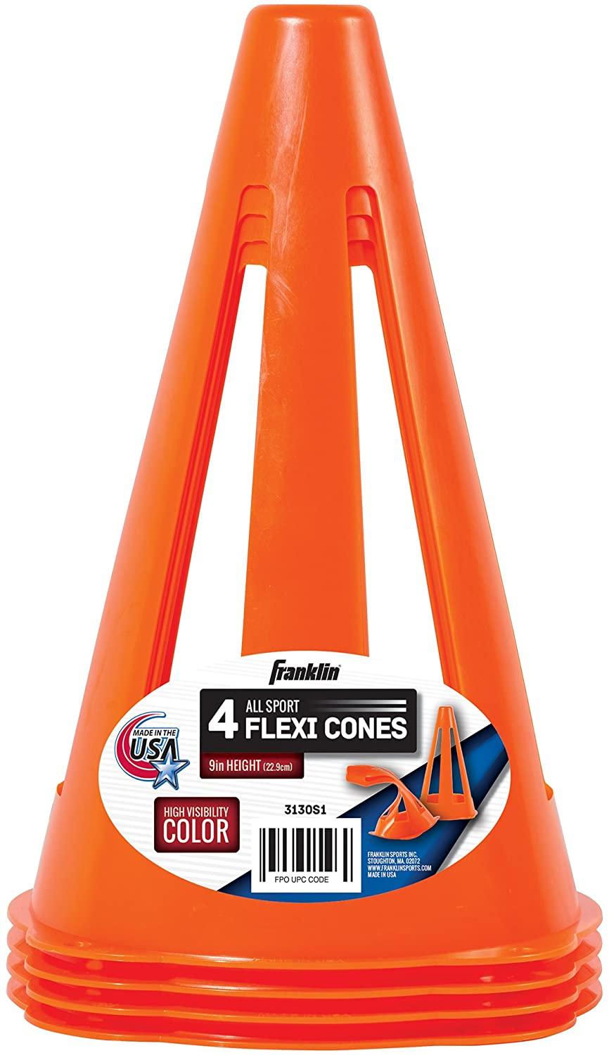 Franklin Orange Flexi Cones