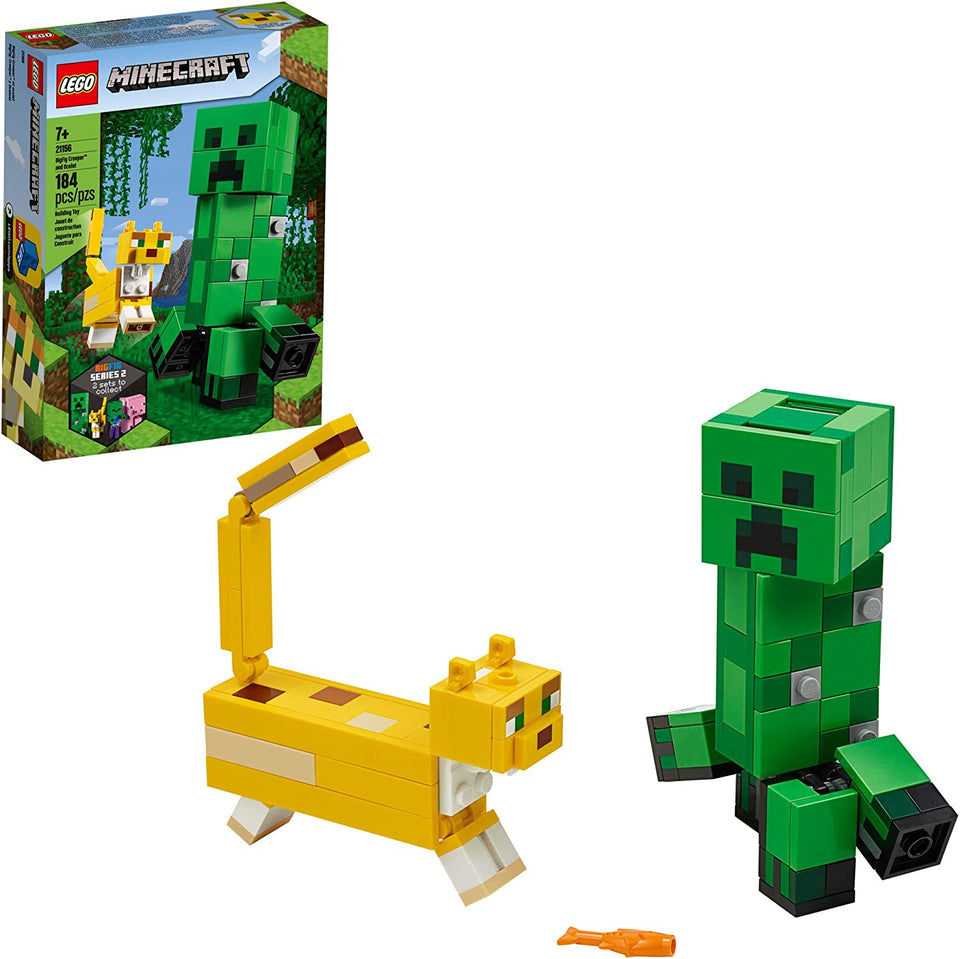 BigFig Creeper and Ocelot