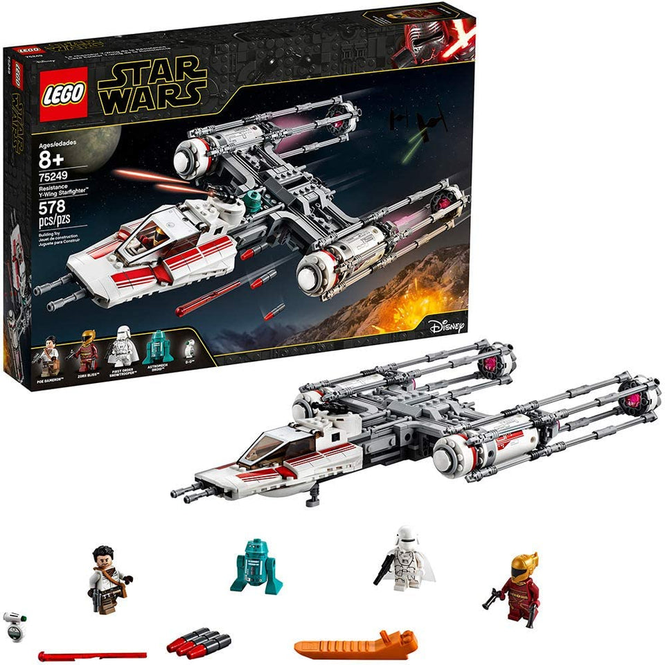 Lego Resistance Y Wing Starfighter
