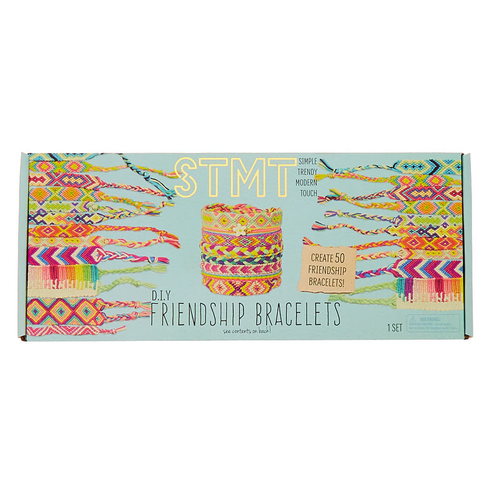 DIY Friendship Bracelets by STMT