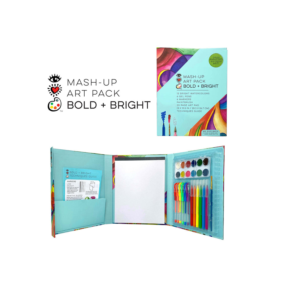 Mash-Up Art Pack Bright & Bold