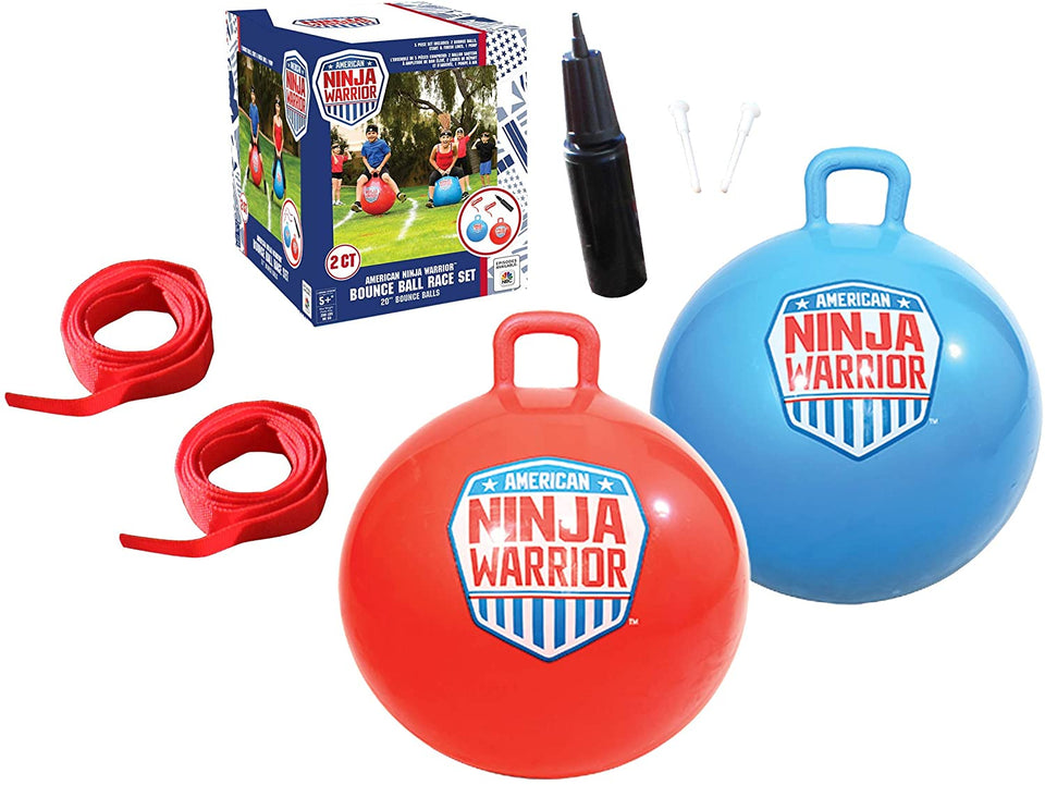 Ninja Warrior Bounce Race Set