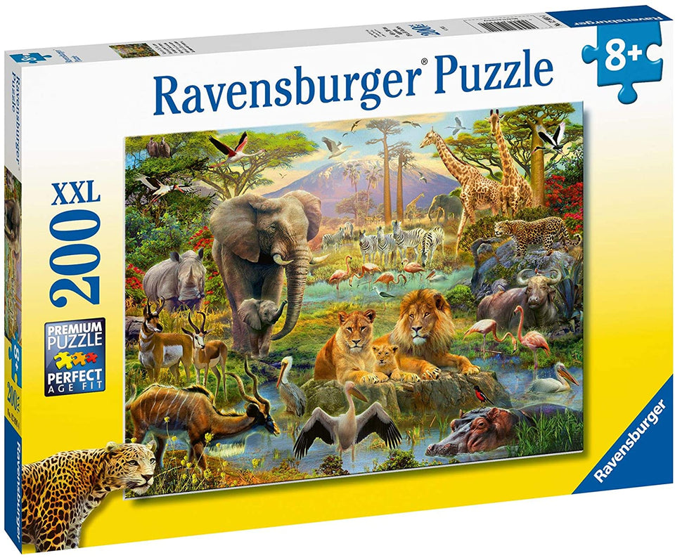 Animals of the Savannah 200 Piece Puzzle