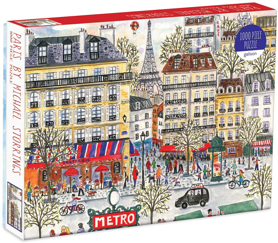 Paris By Michael Storrings 1000 Piece Puzzle