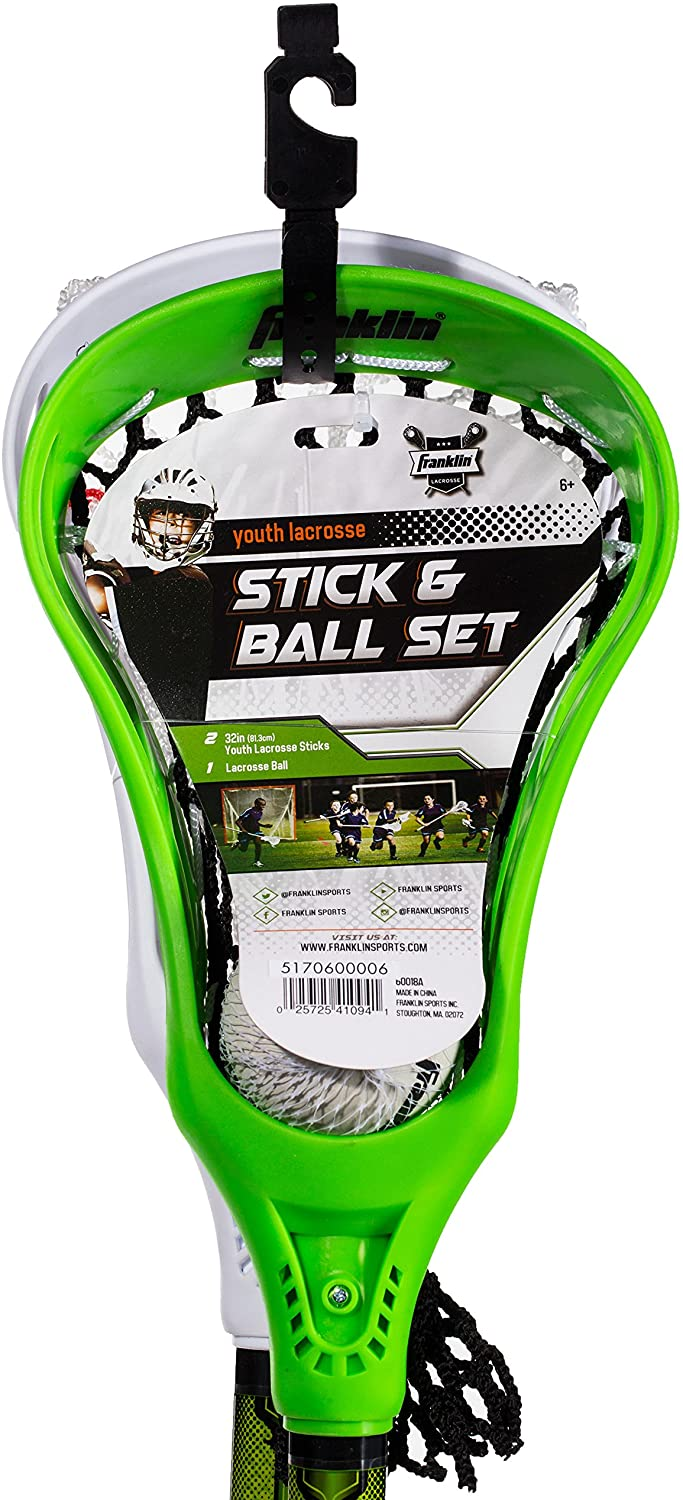 Lax 2 Sticks 1 Ball Set