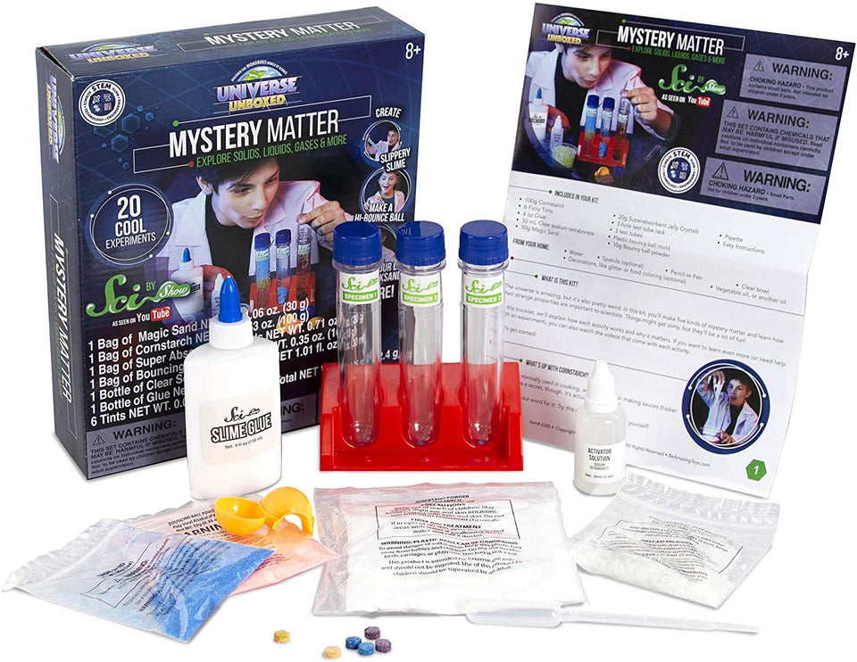 Mystery Matter, Explore Solids, Liquids, Gases and More