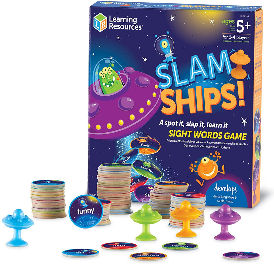 Slamships Sight Word Game