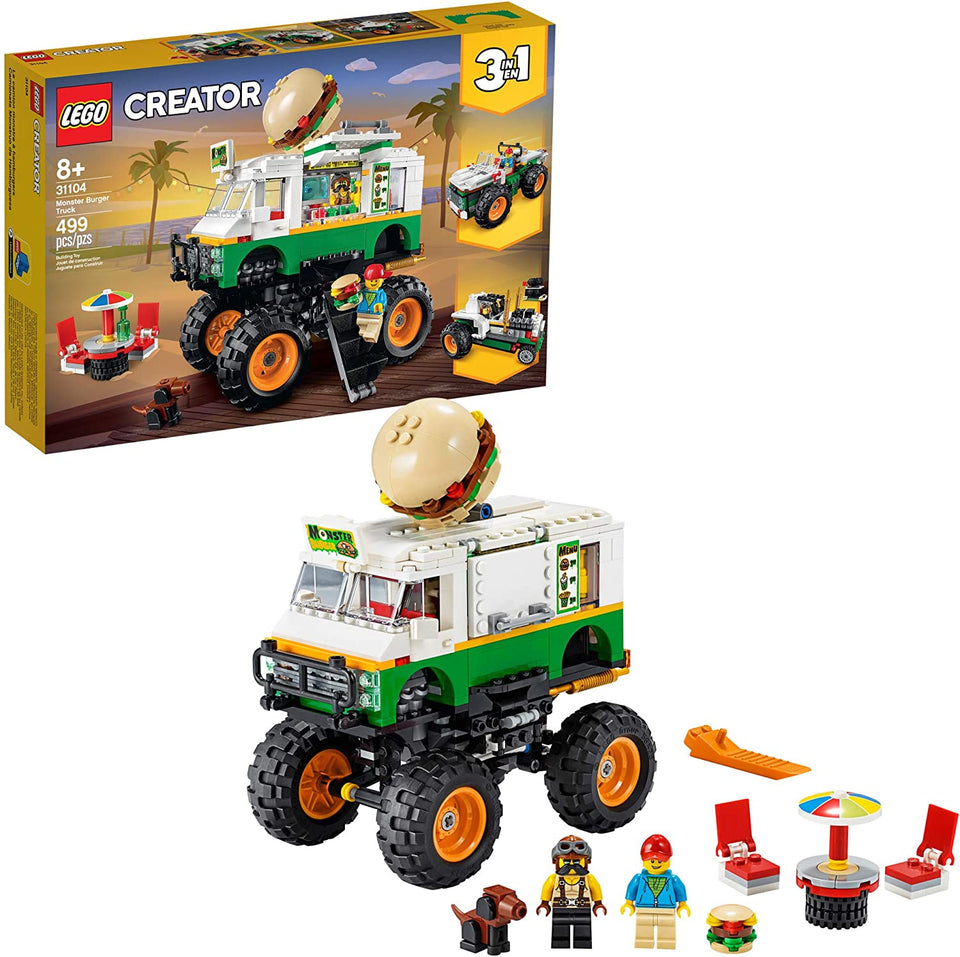 Lego Creator 3in1 Monster Burger Truck