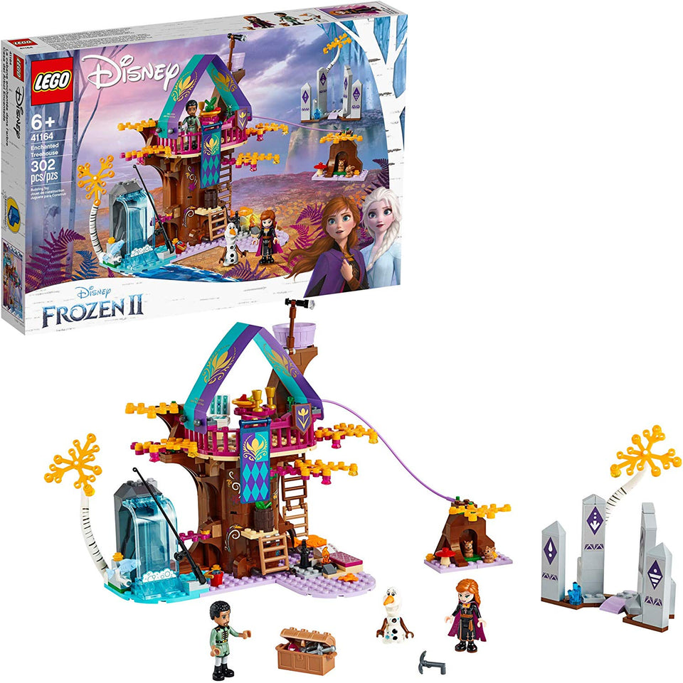 Lego Disney Frozen II Enchanted Treehousee