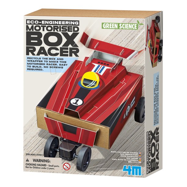 Motorised Box Racer
