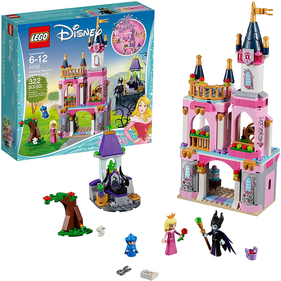 Sleeping Beauty's Fairytale Castle Lego