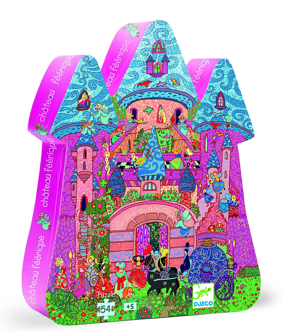 Fairy Castle 54 Piece Puzzle