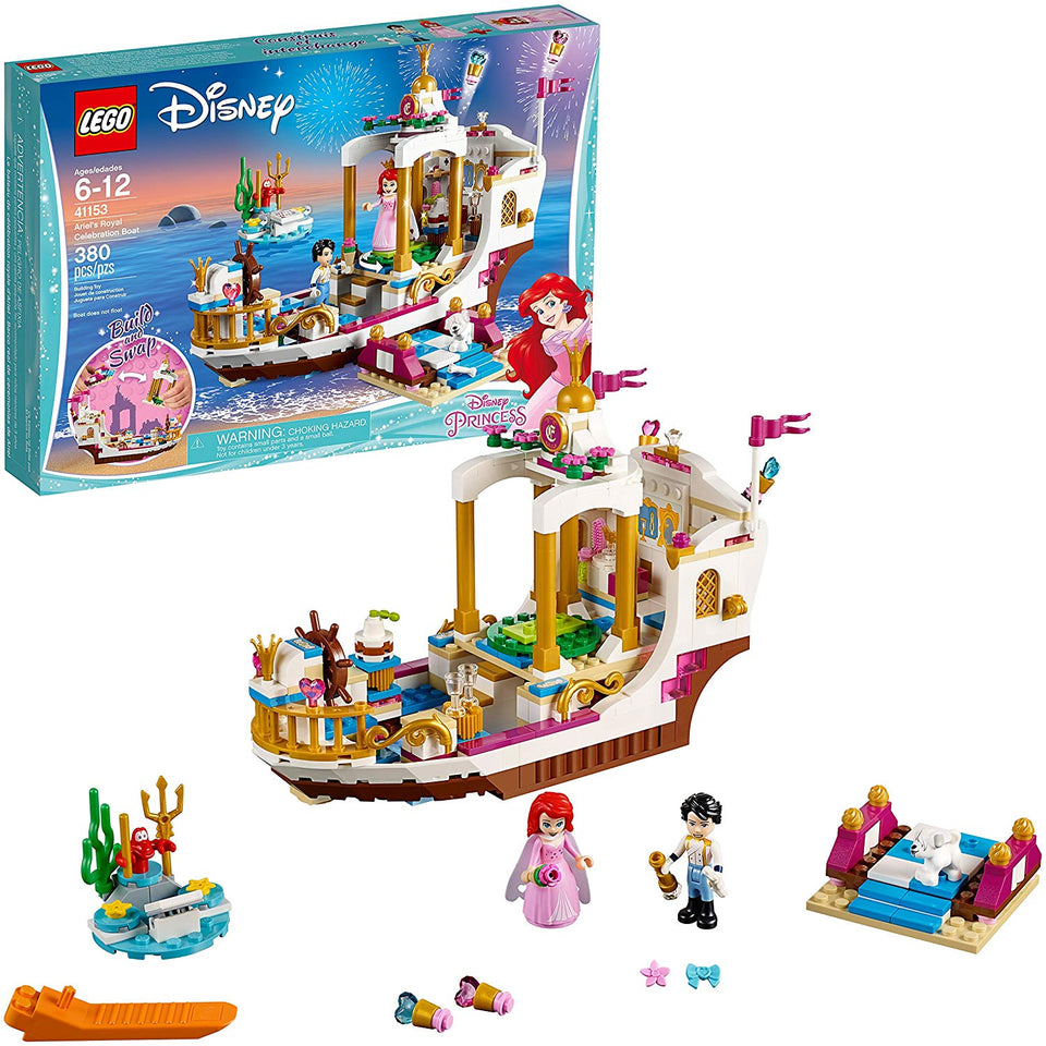 Ariel's Royal Celebration Boat Lego