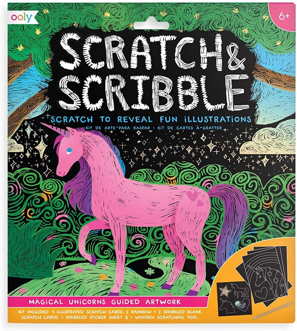 Scratch & Scribble Magical Unicorns