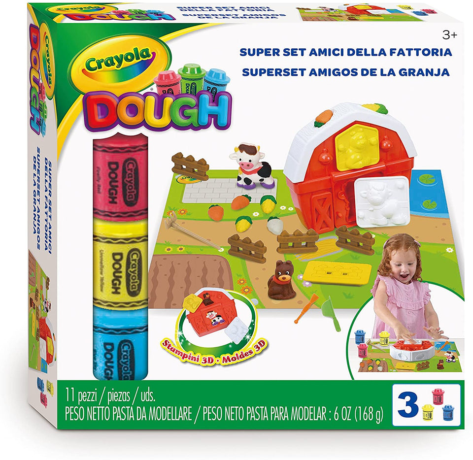 Barnyard Dough Play Center