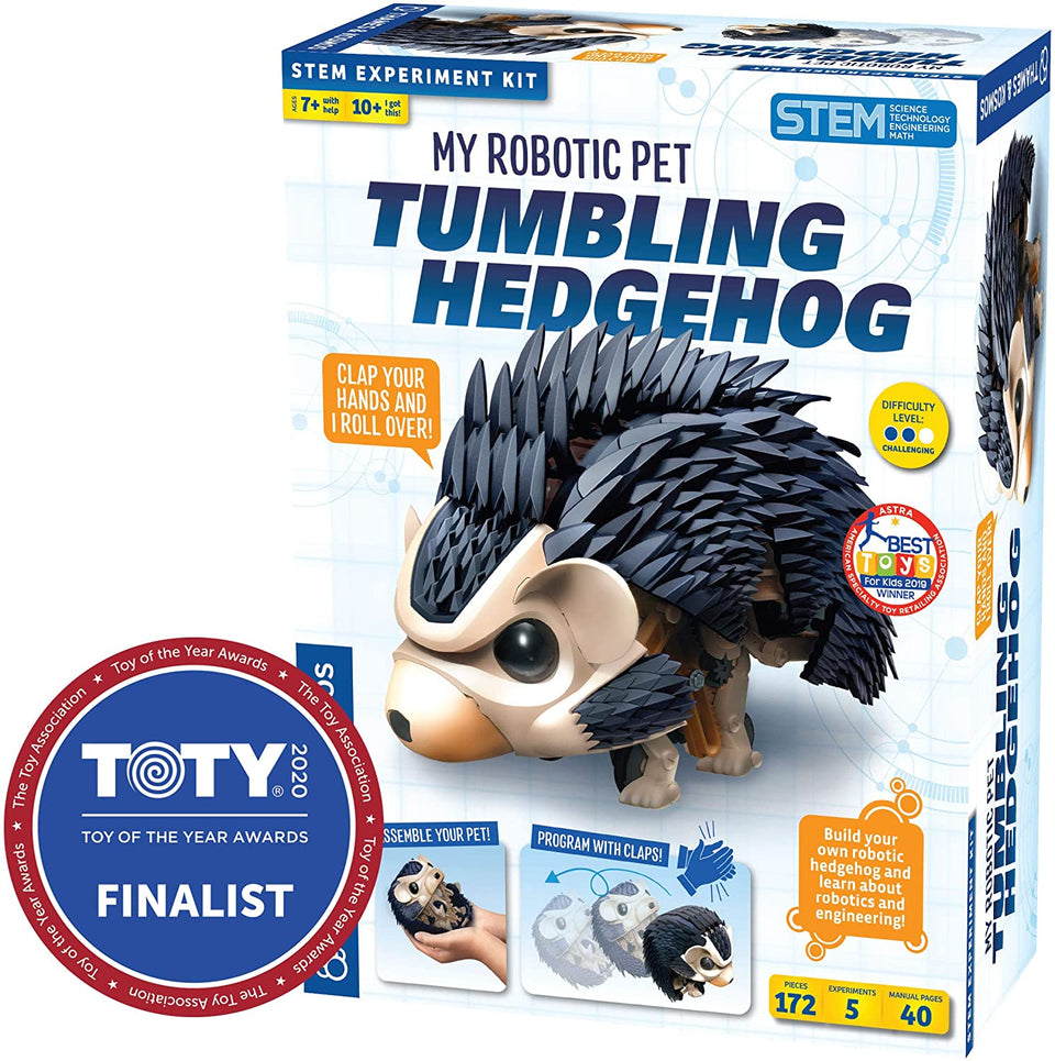 Tumbling Hedgehog Robotic Pet