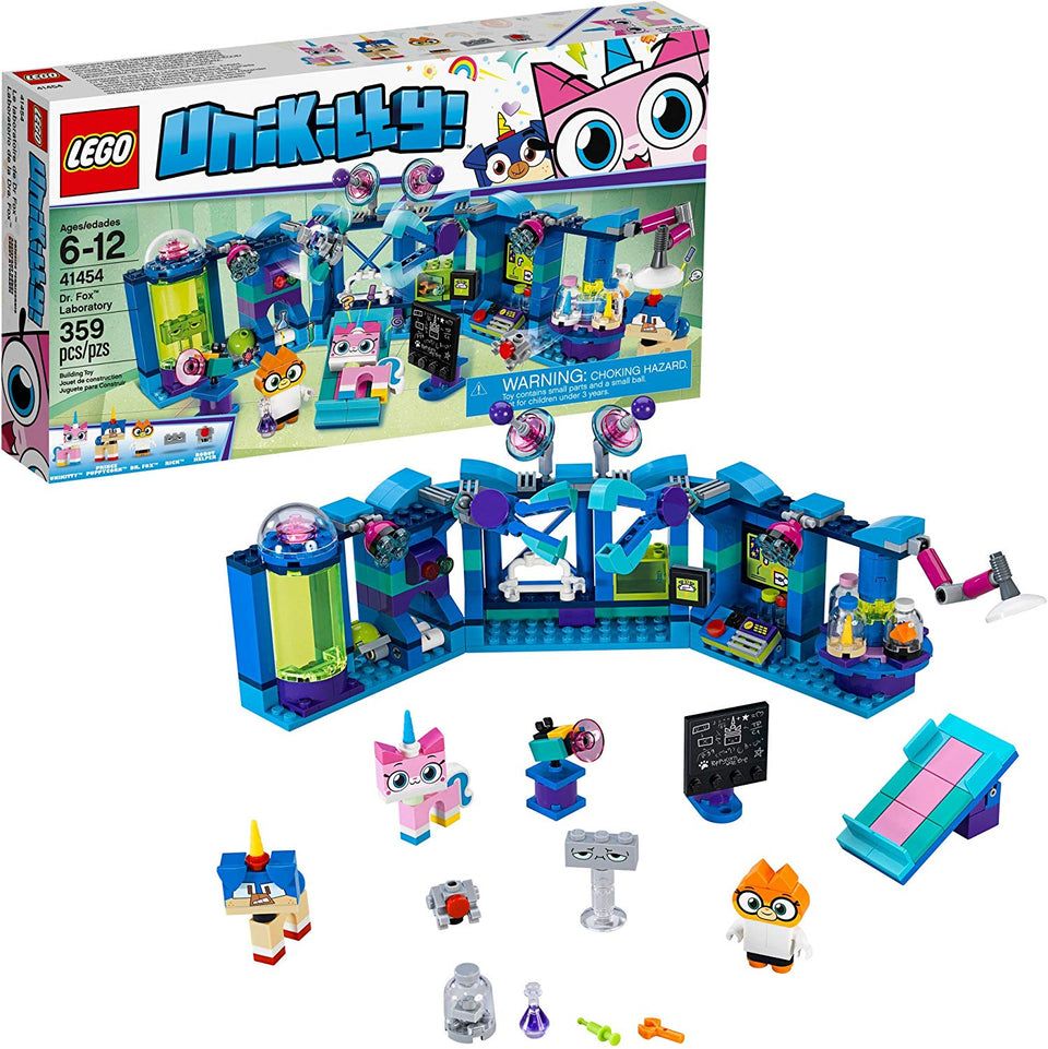 Lego Unikitty! Dr. Fox Laboratory