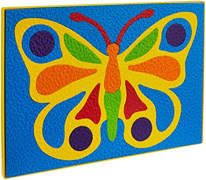 Crepe Butterfly Puzzle