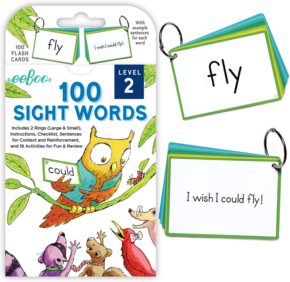 100 Sight Words Level 2