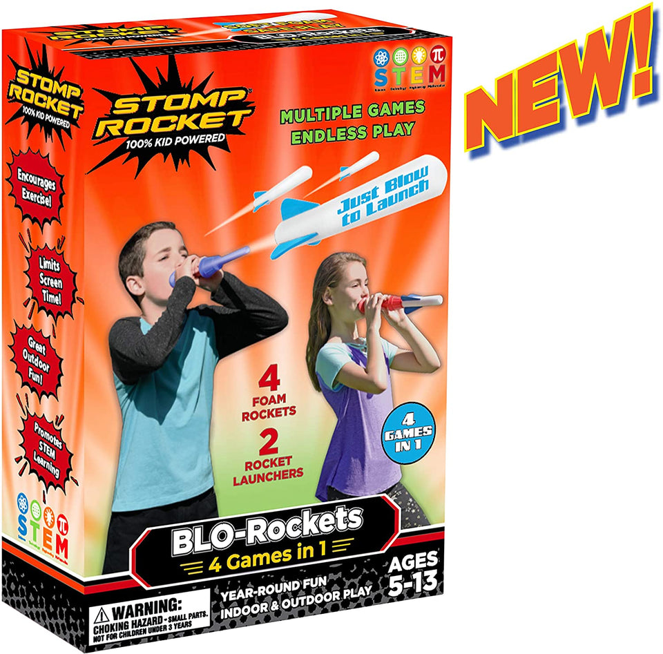 Blo-Rockets 4 Games in 1