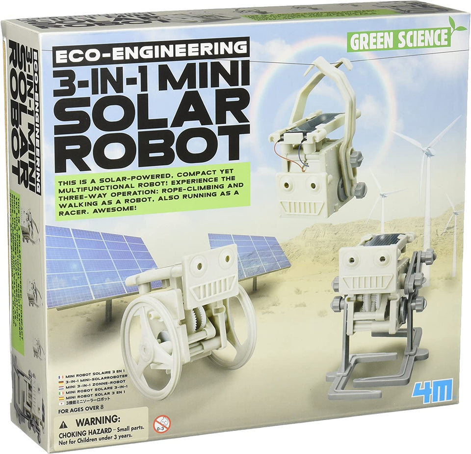 3 in 1 Mini Solar Robots