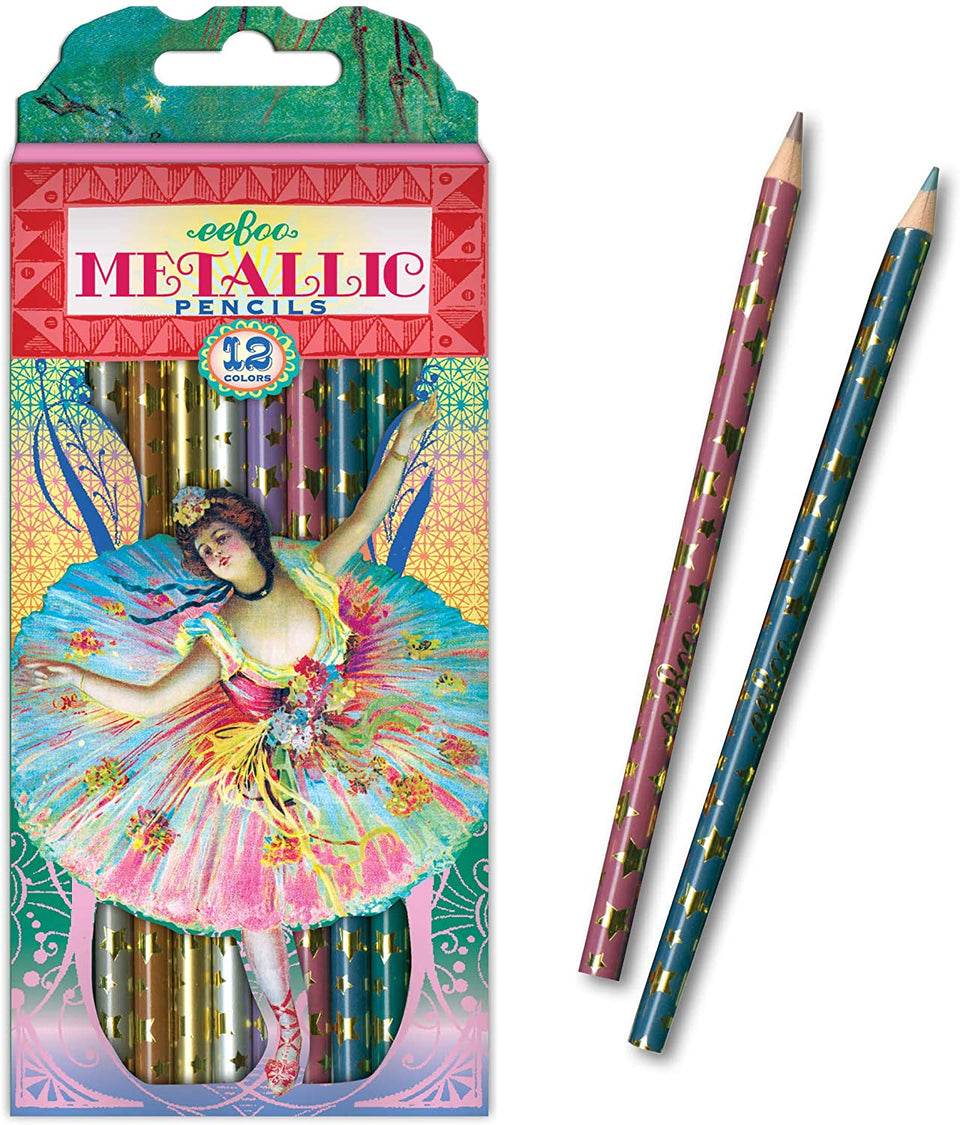 French Dancer Metallic Pencils