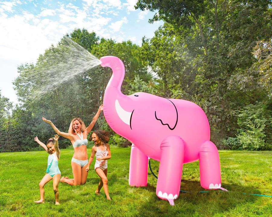 Ginormous Elephant Sprinkler
