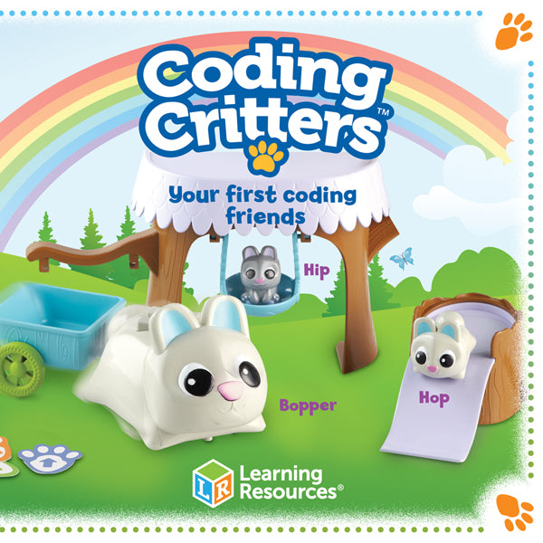 Coding Critters Bopper with Hip Hop