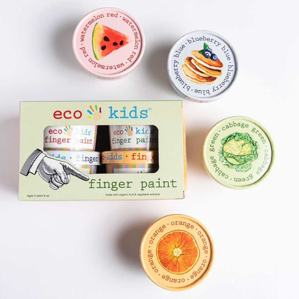 Eco Kids 4 Pack Finger Paint