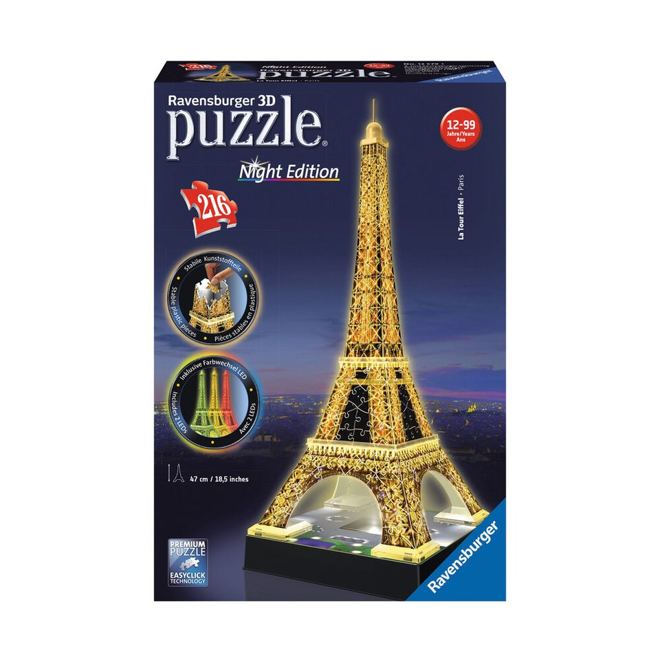 Ravensburger Eiffel Tower 3D Puzzle
