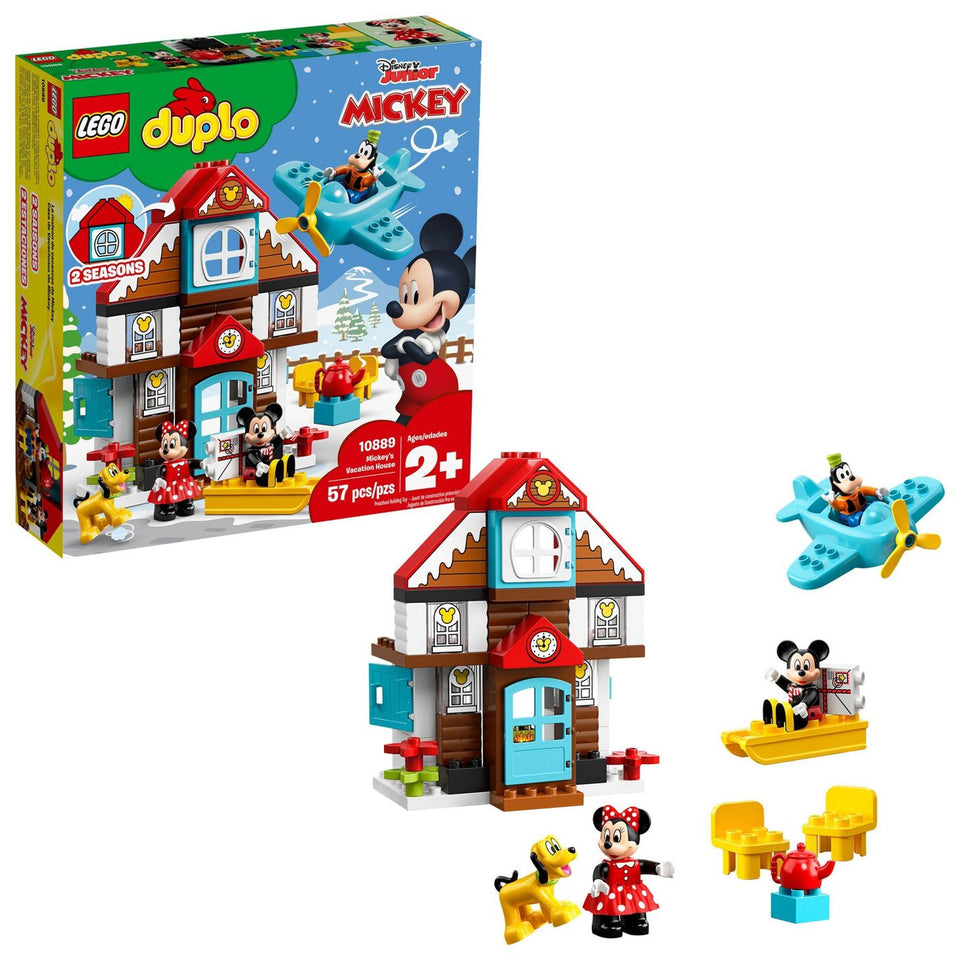 Lego Duplo Mickey's Vacation House