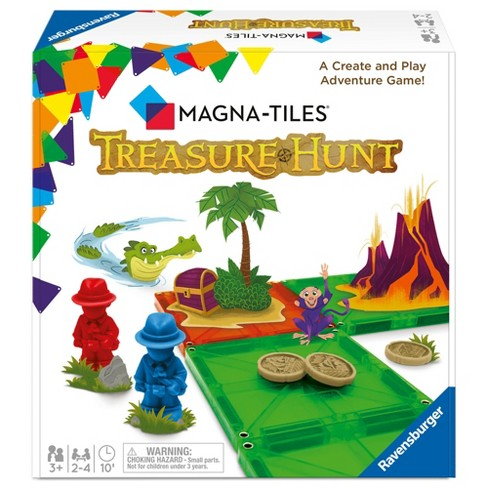 Magnatiles Treasure Hunt