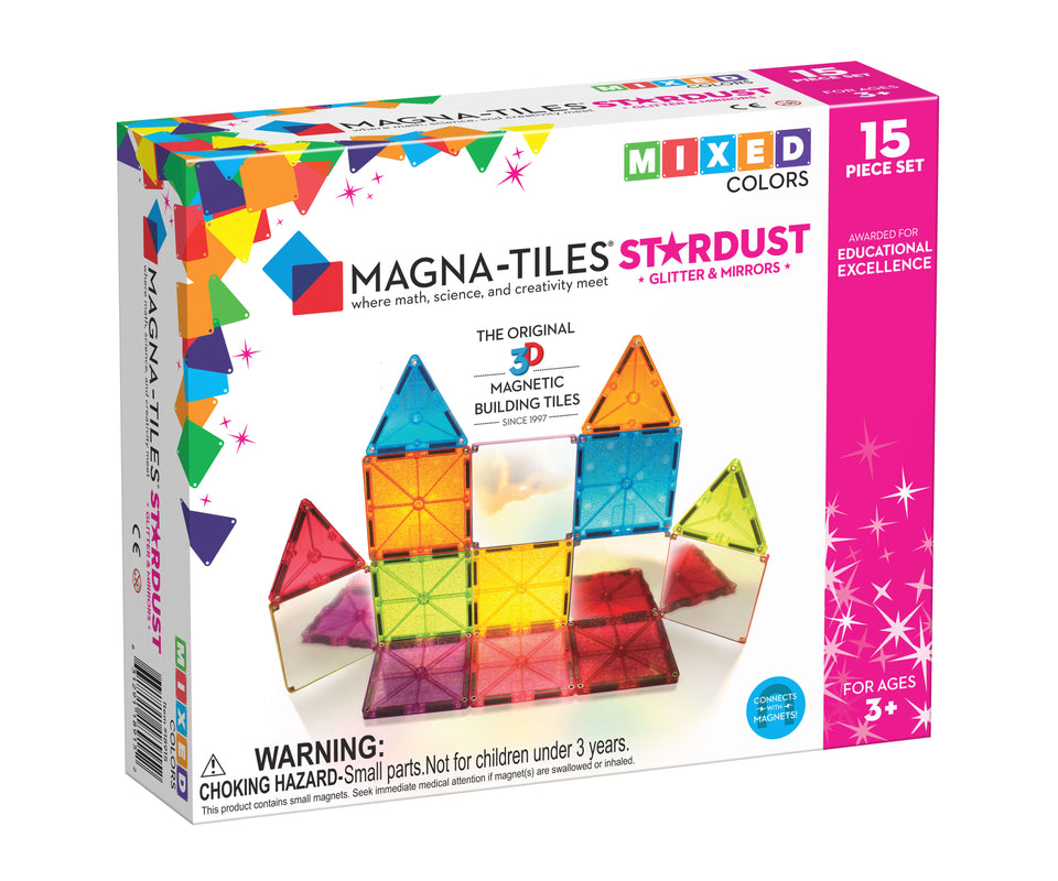 Magna-Tiles Stardust 12 Piece Set