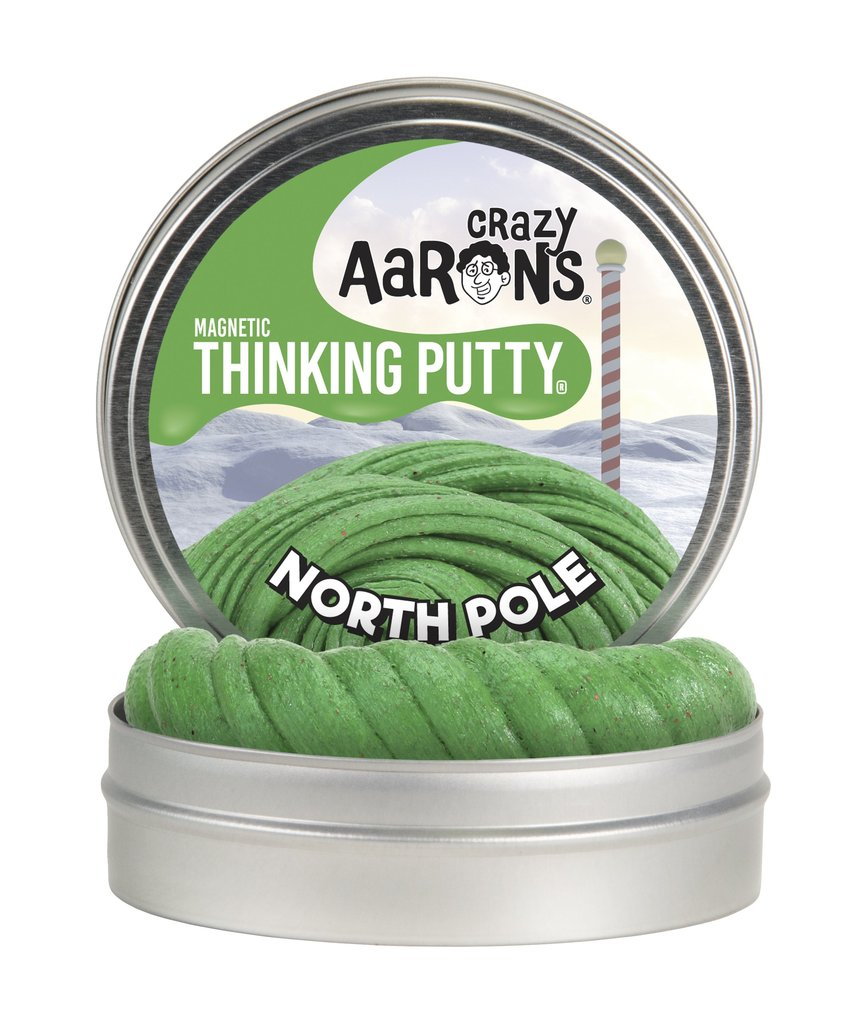 Crazy Aaron's Thinking Putty North Pole
