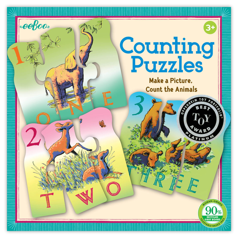 Eeboo Counting Puzzles